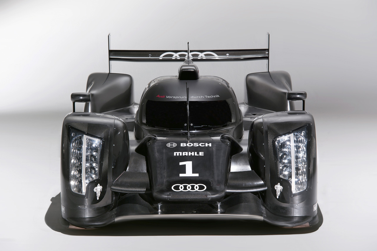 New Audi R18 Le Mans racing