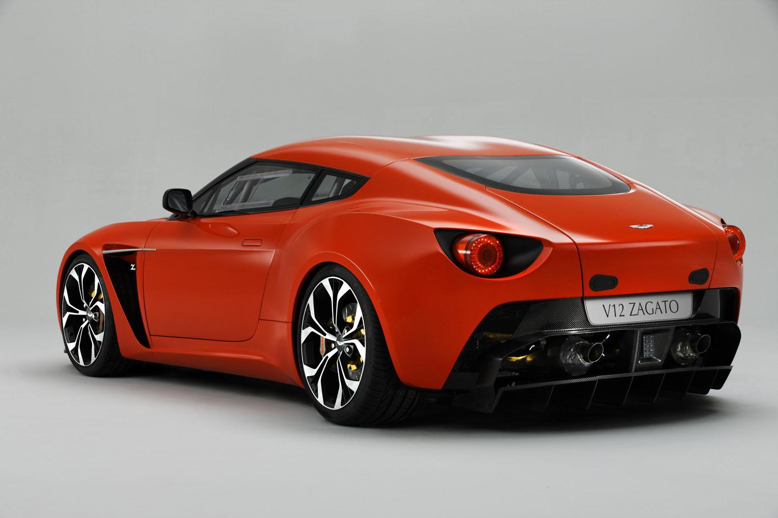 Striking Aston Martin V Zagato Revealed BenAutobahn - Aston martin v12
