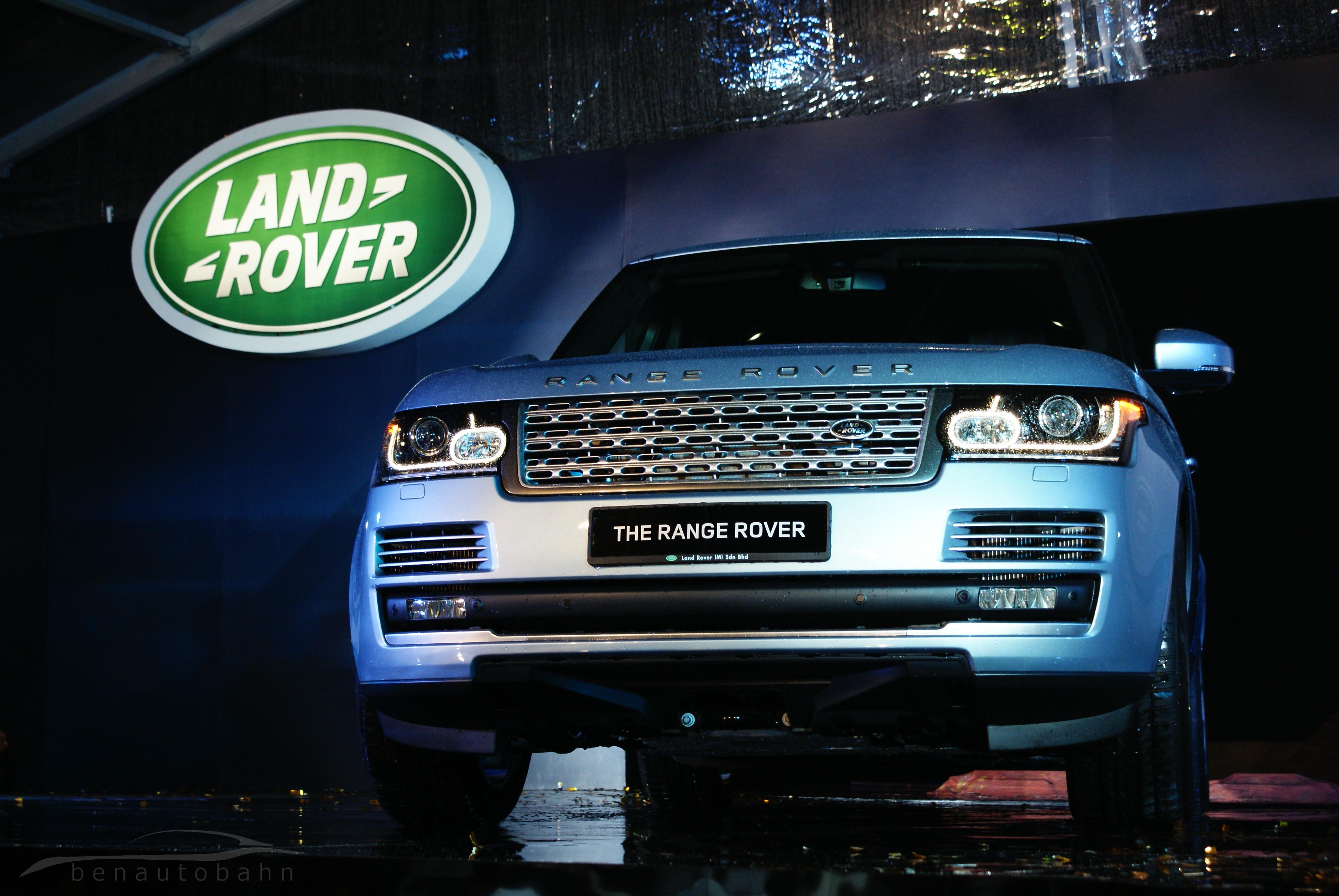 Range Rover media launch event