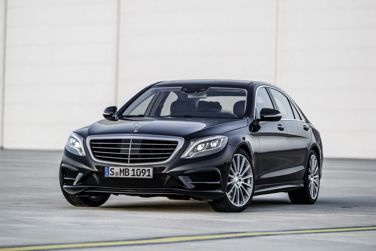 S-Class with AMG Sports Package