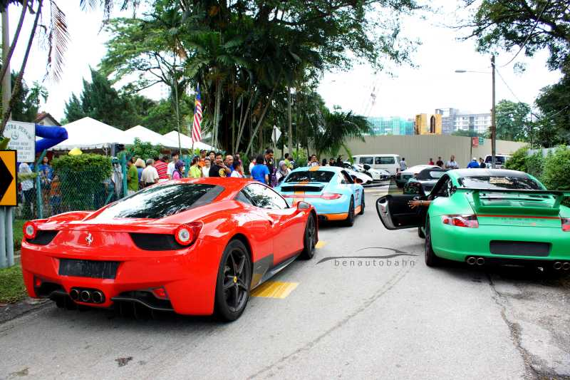 Supercar charity event