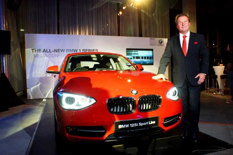 BMW 1-Series launch event