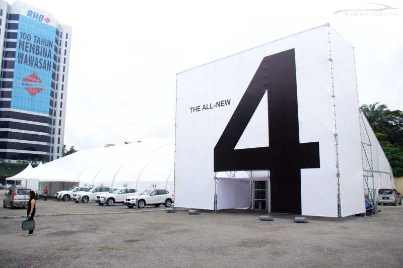 BMW 4-Series launch