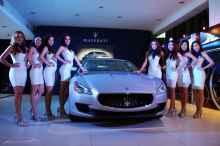 Maserati Quattroporte launch event