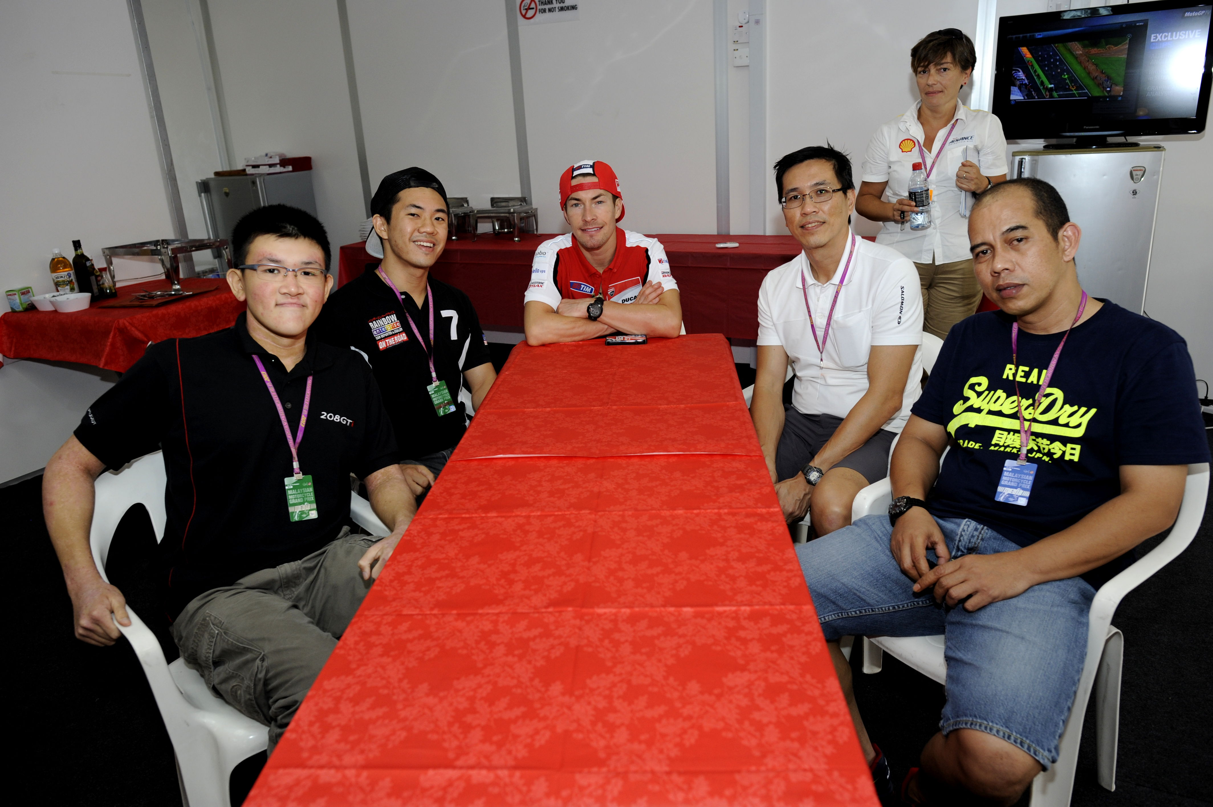 Huge honor to have the privilege to interview these MotoGP riders. Here's hoping F1 drivers are next!