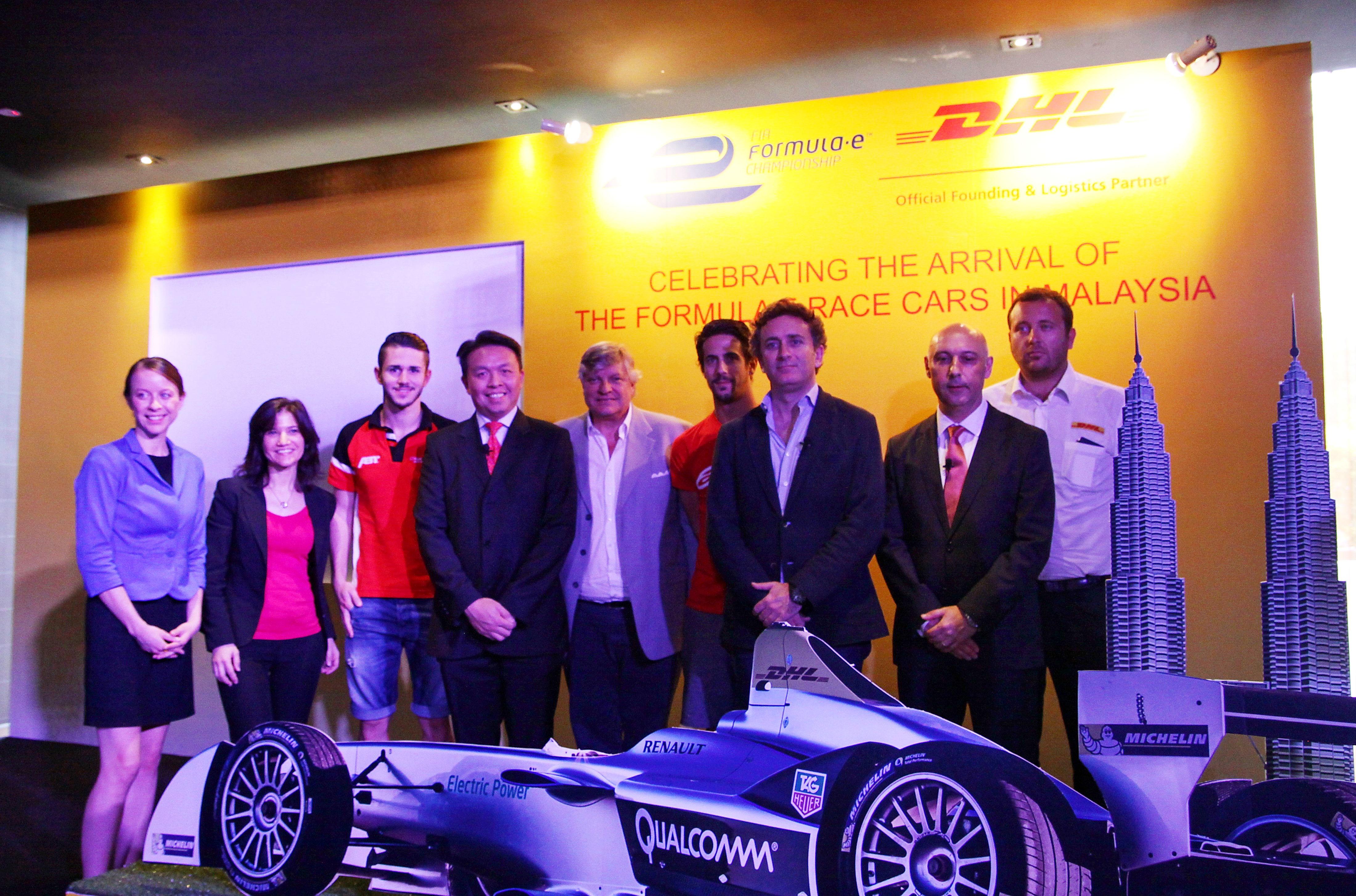 Formula E & DHL collaboration