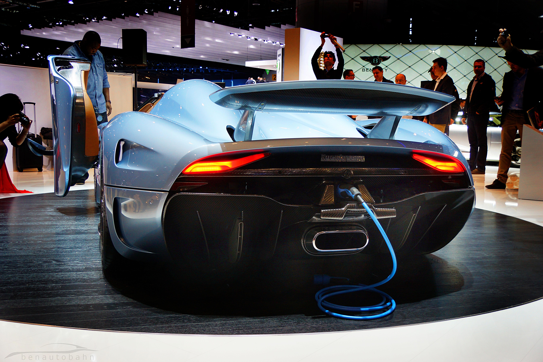 Yes a plug-in hybrid Koenigsegg