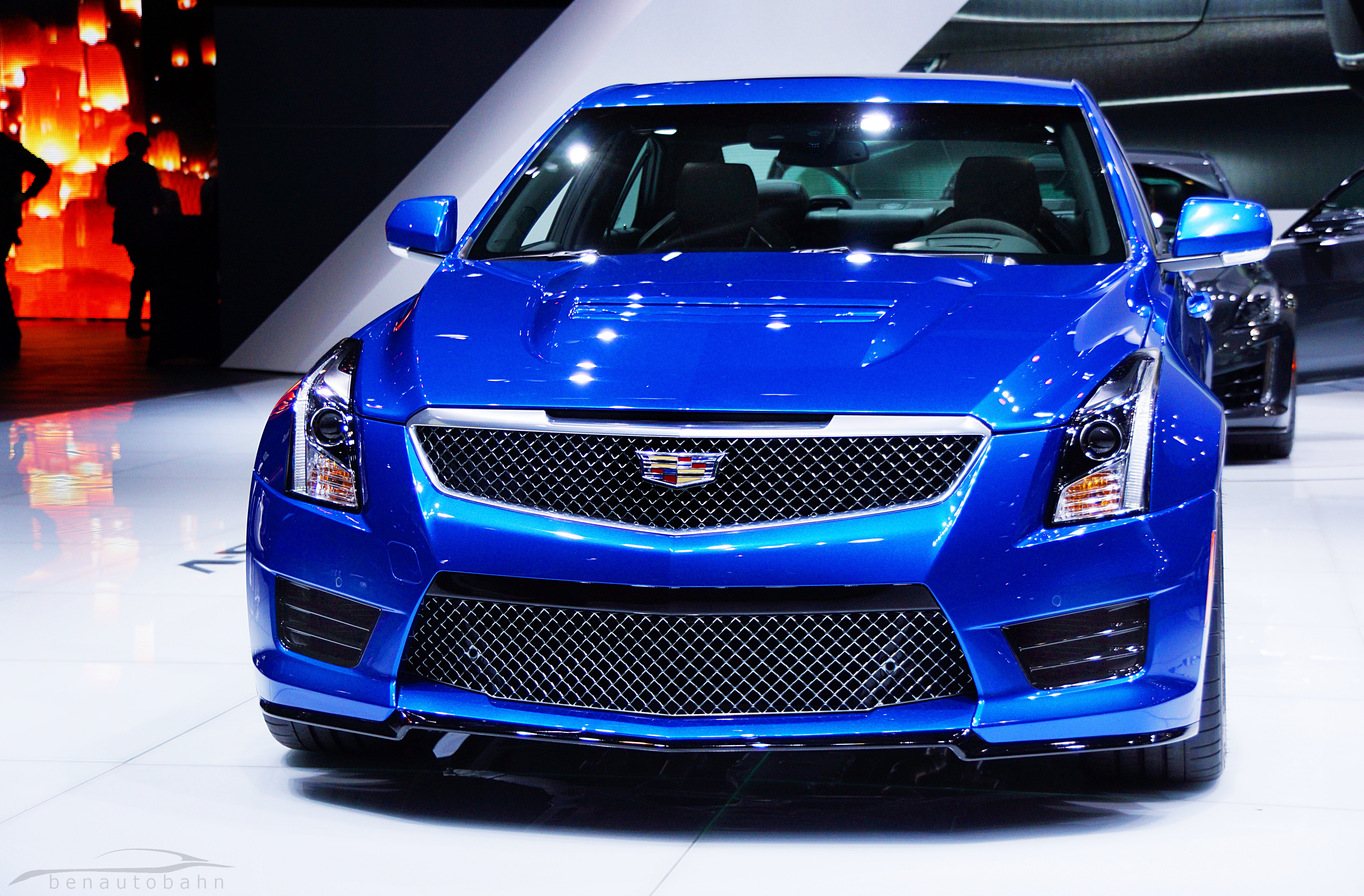 The Cadillac ATS-V is GM's answer to the BMW M3.