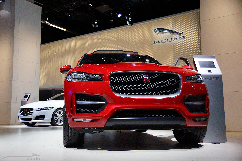 frankfurt 2015: jaguar f-pace first impressions! – benautobahn