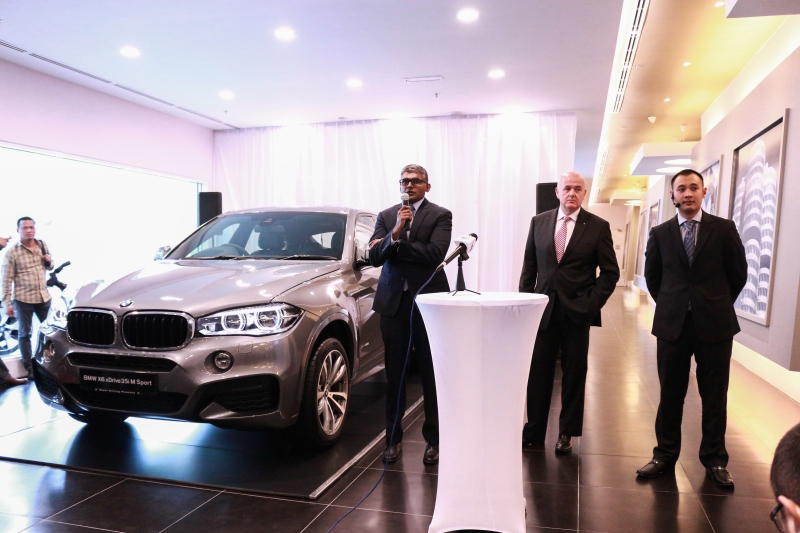 Locally-assembled BMW X6 launch