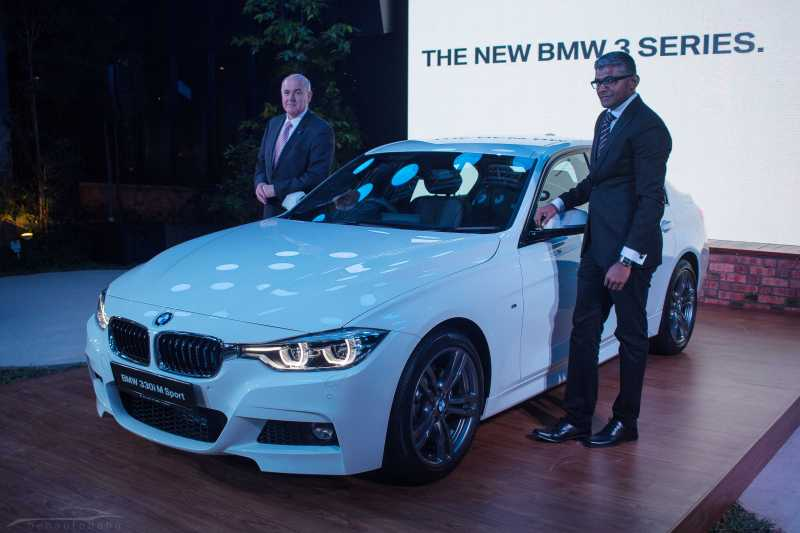 BMW 3 Series facelift launch