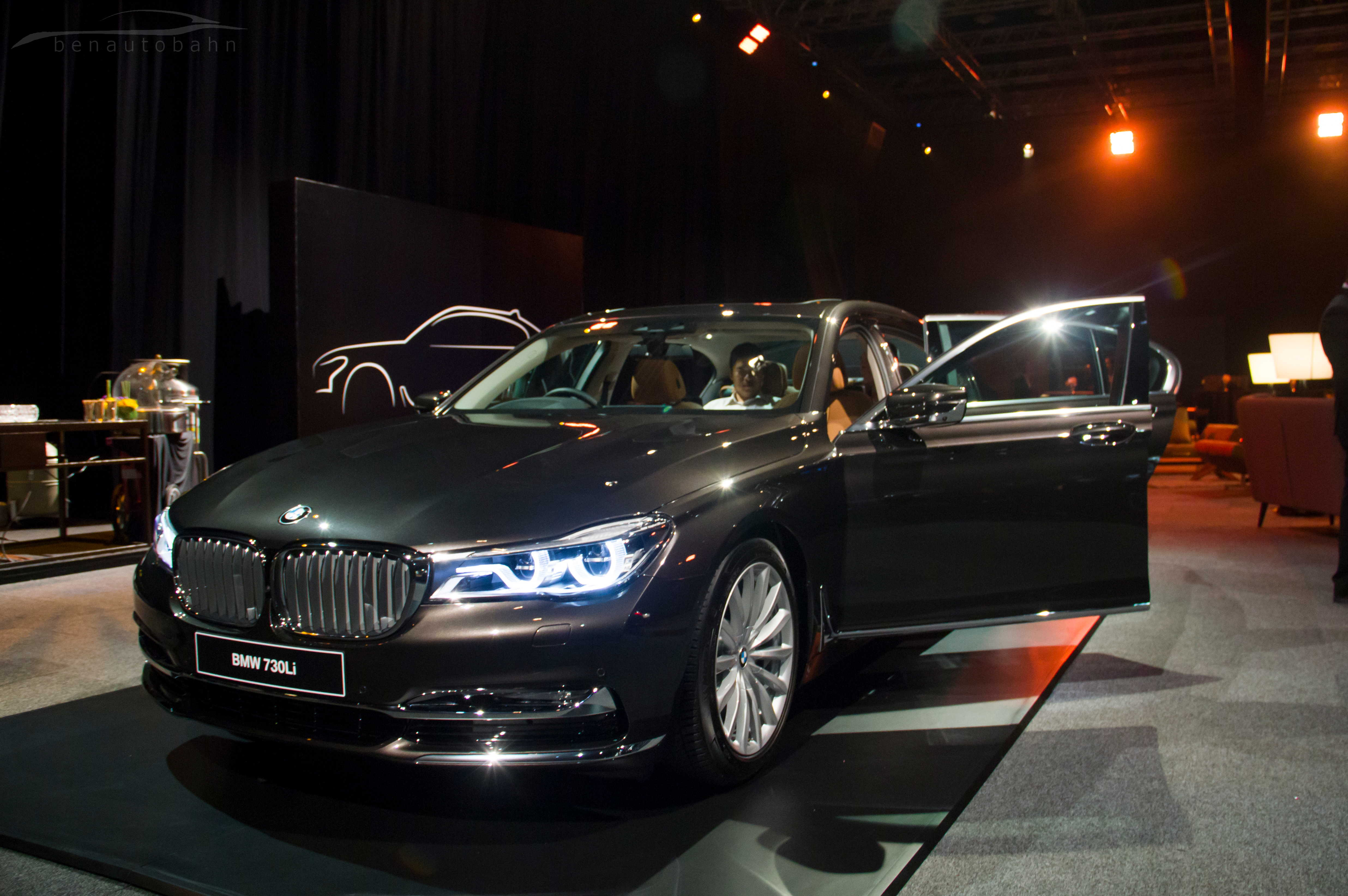BMW 7 Series launch